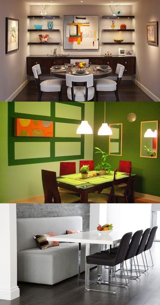 Small dining room design ideas interior design for Small dining room designs