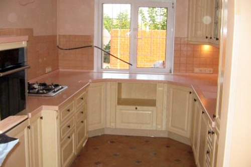 creative small kitchen designs ideas interior design. Black Bedroom Furniture Sets. Home Design Ideas