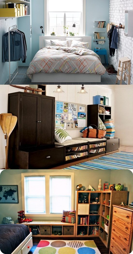 Smart ideas to organize your small rooms interior design - Organize small bedroom ideas ...