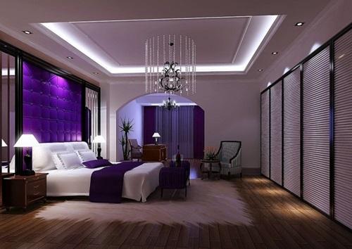 Stunning purple room decorating ideas