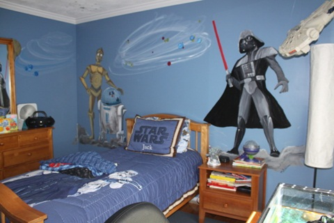 Ultimate star wars room decor interior design for Room decor for 10 year old boy