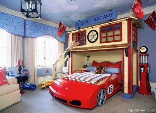 Ceiling Designs and fun decorating ideas for kids' rooms