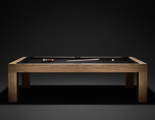 Uses of convertible tables interior design - Billard transformable table ...