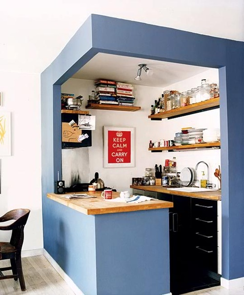 space-saving for Small Kitchens