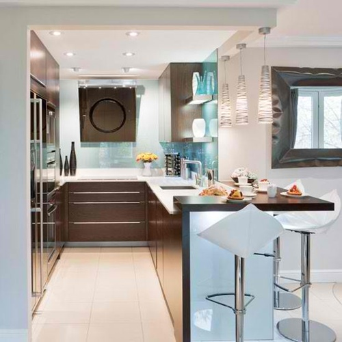 Outstanding Space Saving Solutions For Small Kitchens