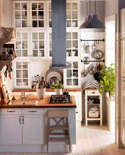 Ikea Small Kitchen Inspiration: Outstanding Space-saving Solutions For Small Kitchens