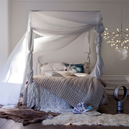 Cozy winter bedroom decorations interior design for Winter bedroom