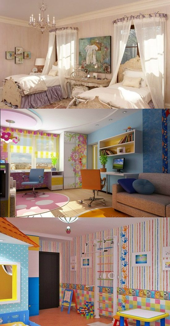Creative Ways To Divide A Shared Bedroom For 2 Kids