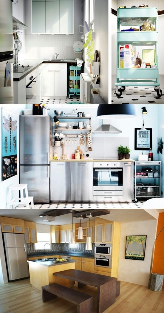4 Brilliant Kitchen Remodel Ideas: Smart & Space-Saving Ideas For Small Kitchens