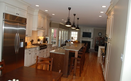 Smart space saving ideas for small kitchens interior for Galley kitchen with island layout