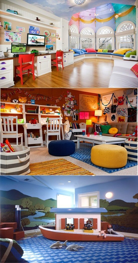 Unique ideas to create a Fun Playroom for kids
