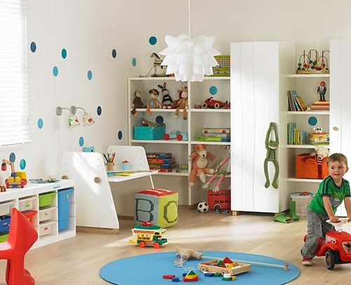 Unique ideas to create a fun playroom for kids interior for Kids play rooms