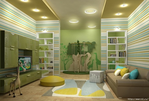 Innovative Playroom Interior Design Ideas Interior Design