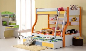 Colorful Interior Design For Kids Bedroom