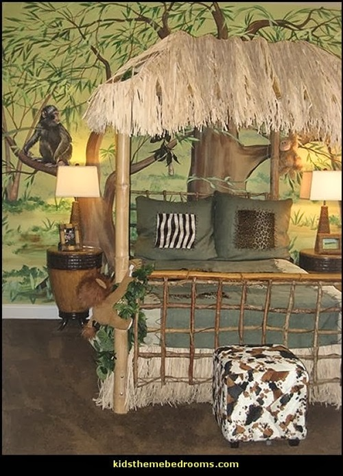 Amazing kids jungle room design ideas interior design for Jungle living room ideas