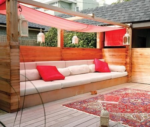 Colorful Chic Outdoor Furniture, Garden Cushions