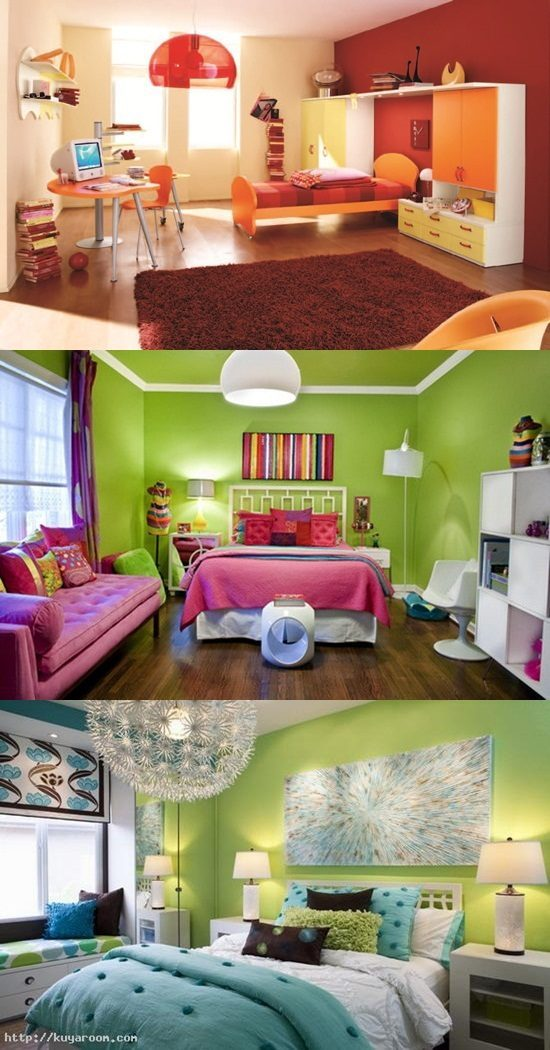 colorful teen bedroom design ideas interior design