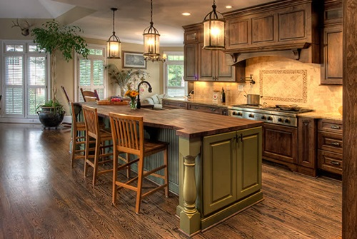 Guide to create a Country Kitchen