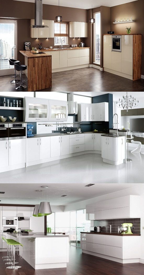 How to Create a High Gloss Kitchen