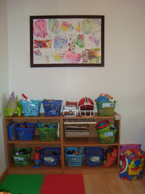 How to Organize Your Kids Toys room