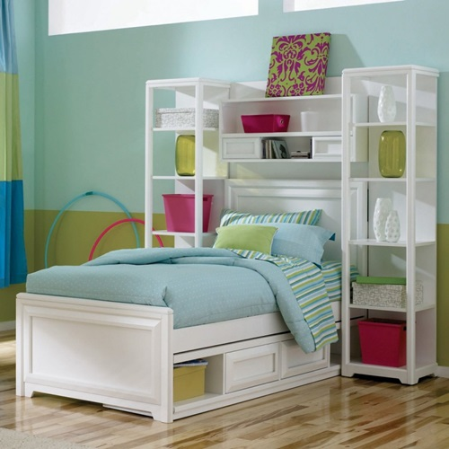 innovative beds for narrow kids room interior design