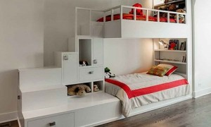 innovative kids room interior design ideas | Innovative beds for narrow kids room - Interior design