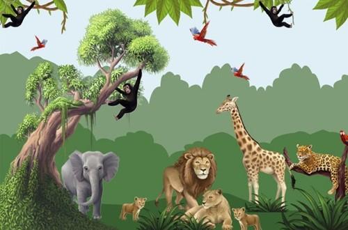 Amazing Kids Jungle Room Design Ideas Interior Design