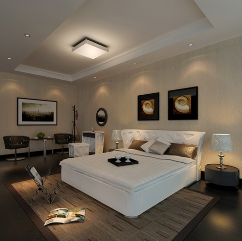 Master Bedroom Glamorous Focal Points Interior Design