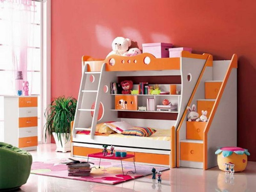 Multi functional beds for small kids 39 bedroom interior - Interior for kids bedroom ...