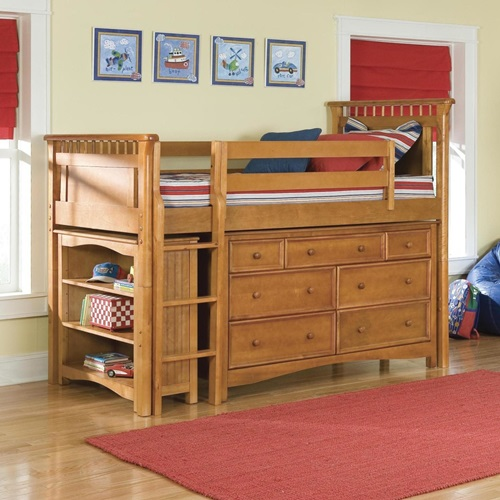 Multi Functional Beds For Small Kids Bedroom Interior Design