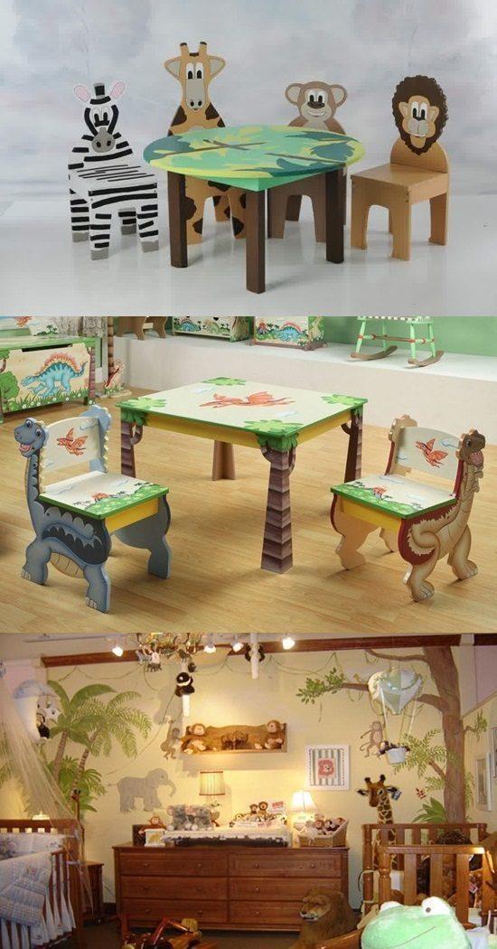 Popular Animal Theme Kid Furniture