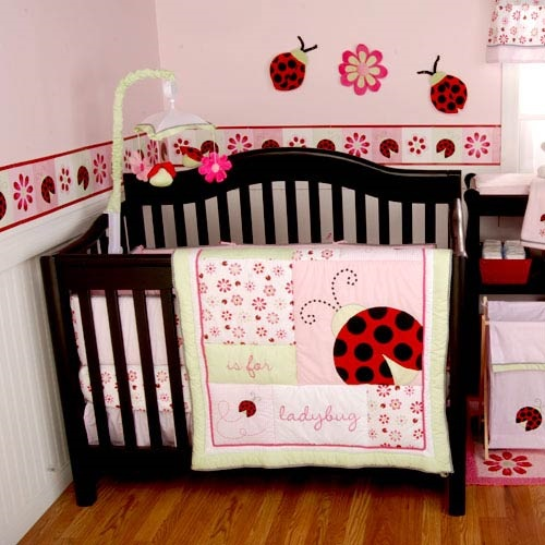 Popular Girl Baby Bedding Themes Interior Design