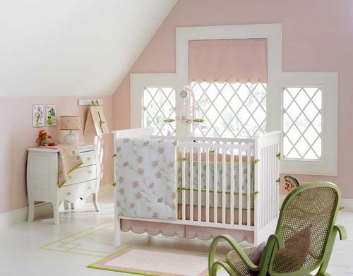 Popular girl baby bedding themes