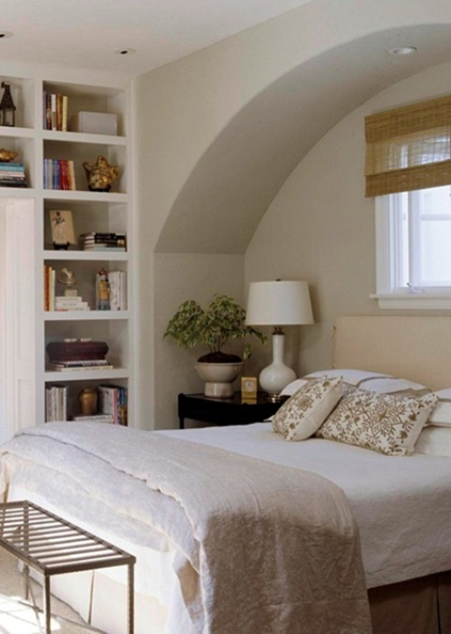 Practical Storage Solutions For Small Bedrooms Interior