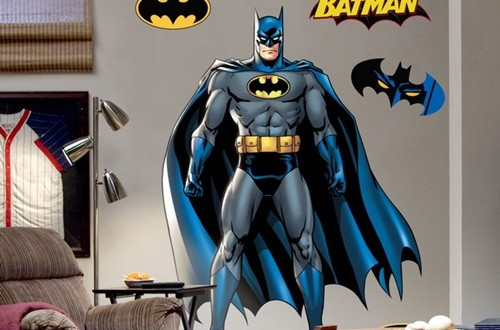 Superman and batman themes for kid s bedrooms interior design - Superman interior designs ...