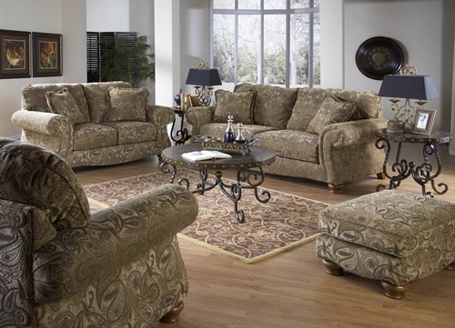 The Advantages Of Traditional Living Room Furniture Interior Design