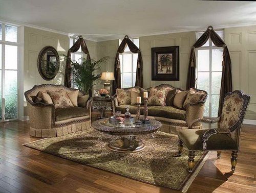The advantages of traditional living room furniture interior design - Living room furniture traditional ...
