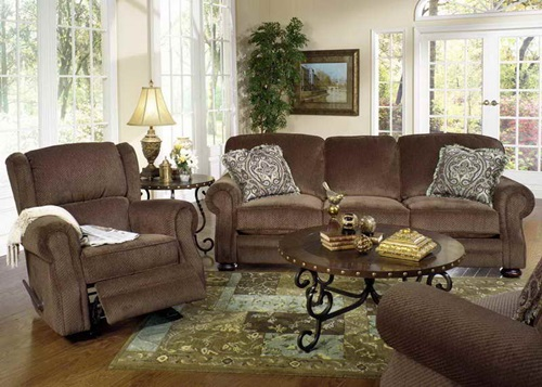 The advantages of traditional living room furniture for Traditional living room sofa