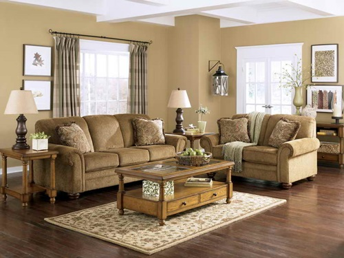 The advantages of Traditional Living Room furniture