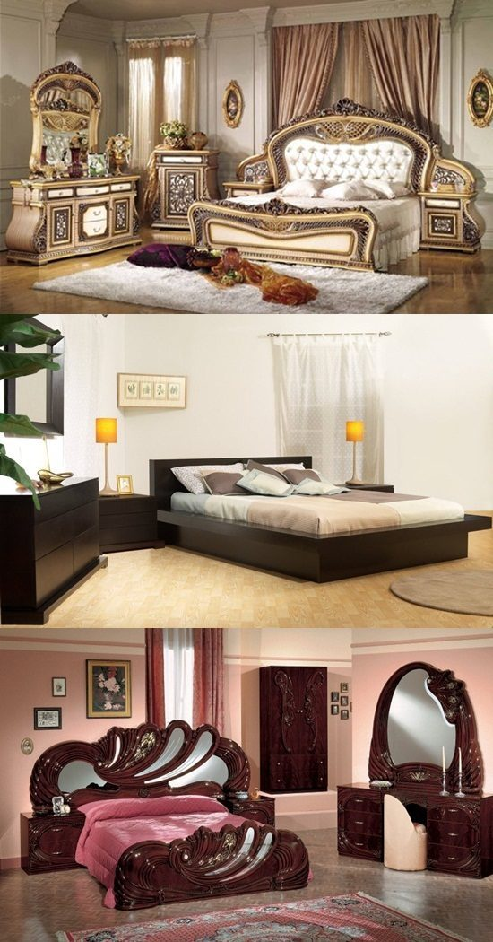 various styles of bedroom furniture interior design