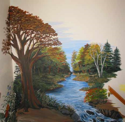 Wall And Painted Murals Interior Design