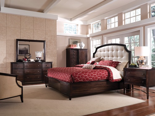 the bed is the focal point of any bedroom so it should be kept