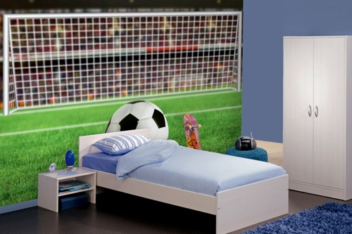 Children S Room Neutral Colors Football Theme