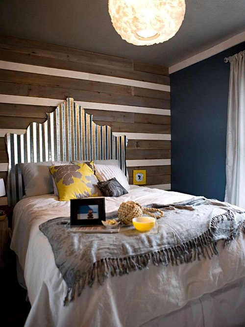 Create your headboard – Your Bedroom