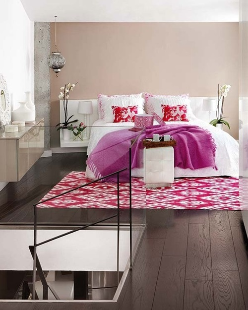 Creative Bright Colored Bedrooms