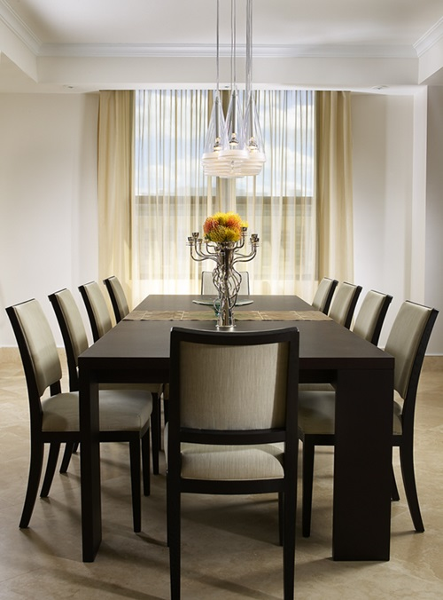 Creative small dining room furniture interior design for Creative dining room tables