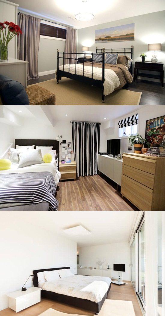 designing your bright basement bedroom interior design