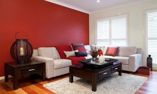 Different ideas for living room colors - Interior design