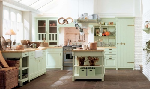 Ideas for Vintage Style Kitchen