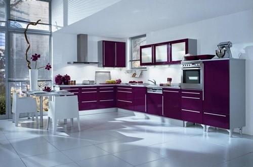 Italian Traditional Purple Kitchen Designs Interior design